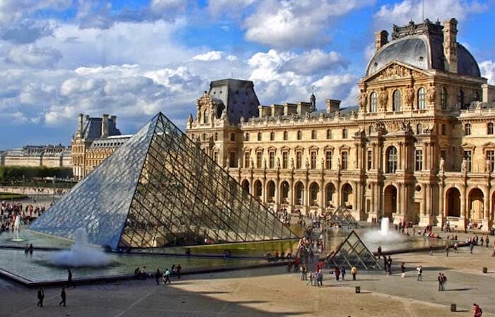 Visitar os museus de Paris - Museu do Louvre