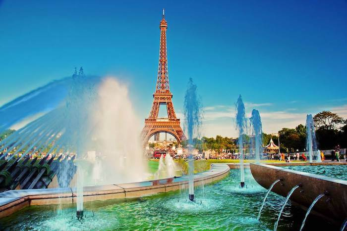 Clima de verão em Paris
