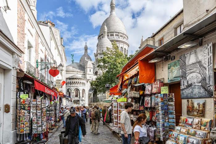 Onde ficar em Paris: região de Montmartre em Paris