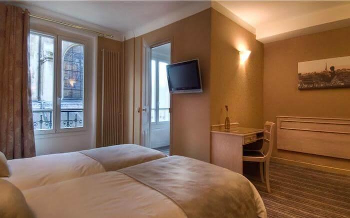 Hotel bom e barato em Paris