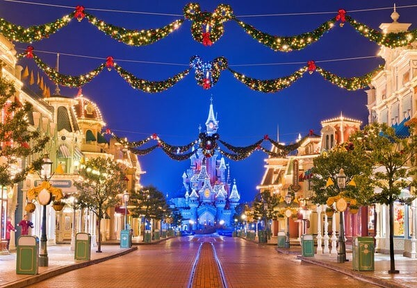 Disneyland Paris no Natal
