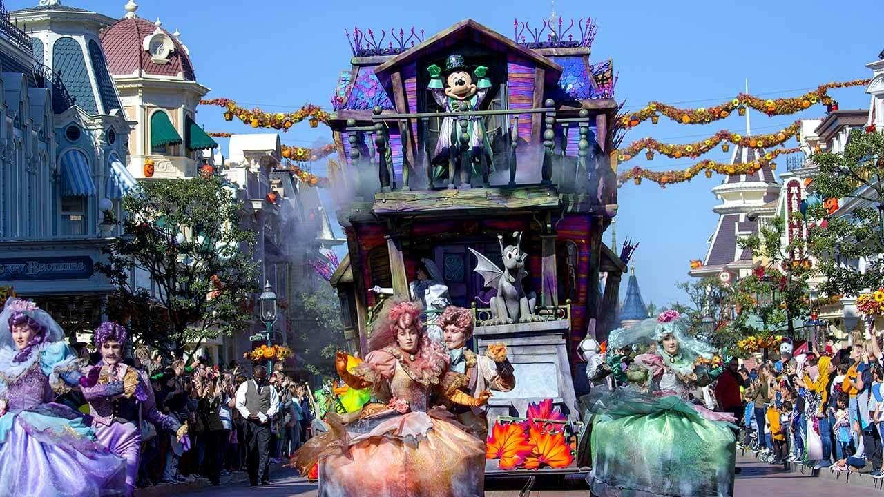 Evento no Parque Disneyland em Paris