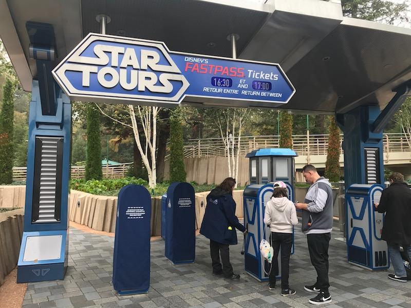 Fastpass no Parque Disneyland
