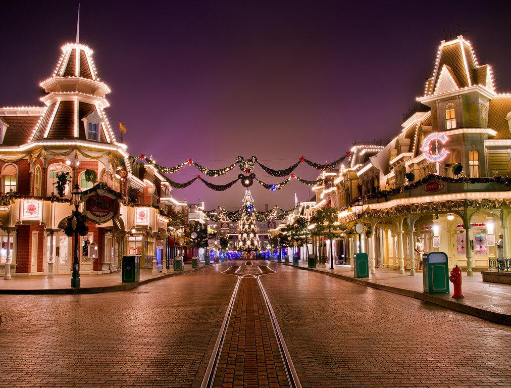 Main Street Disneyland Paris
