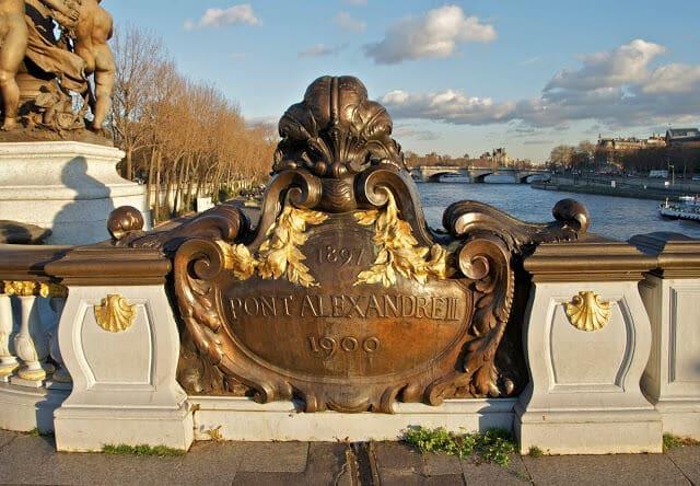 Arte Nova da Ponte Alexandre III
