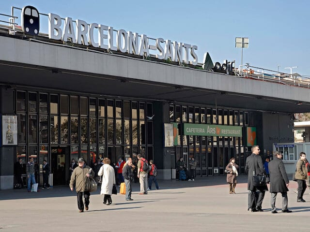 Estação Barcelona Sants