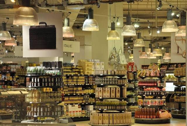 Supermercado em Paris