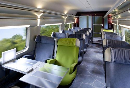 Como é a viagem de trem de Paris à Porto?
