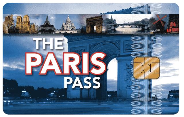 Cartão do Paris Pass