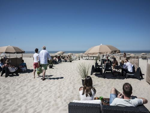Praia de Le Touquet perto de Paris