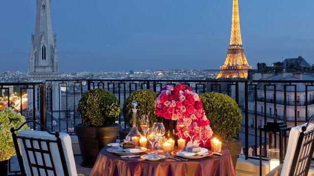 Lua de mel em Paris