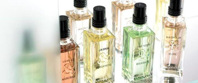 Comprar perfumes nas lojas L'Occitane