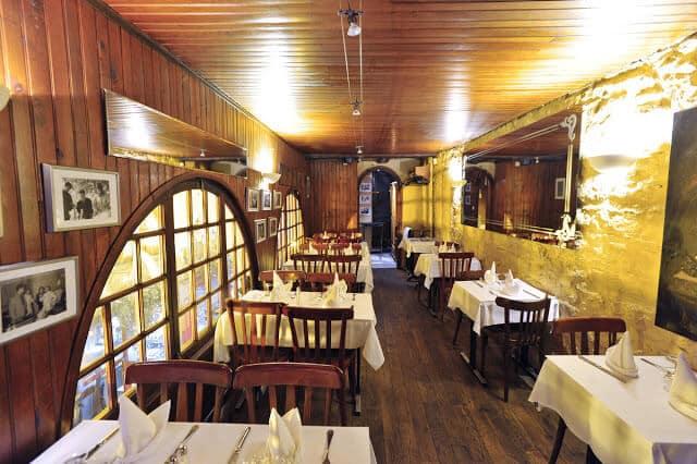 Restaurante La Merciere em Lyon