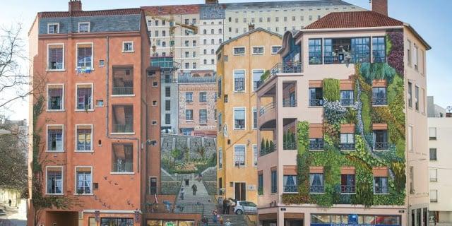 Mur des Canuts, Lyon