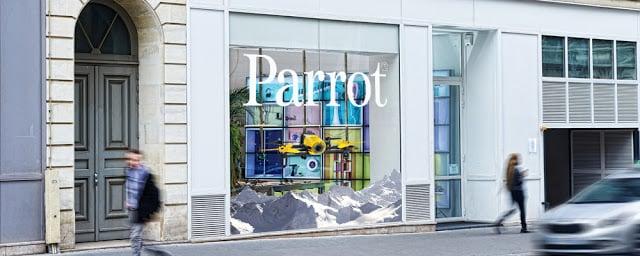 Loja Parrot em Paris