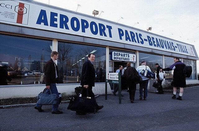Aeroporto Beauvais-Tillé em Paris