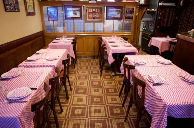 Bouchon Chez Hugon em Lyon