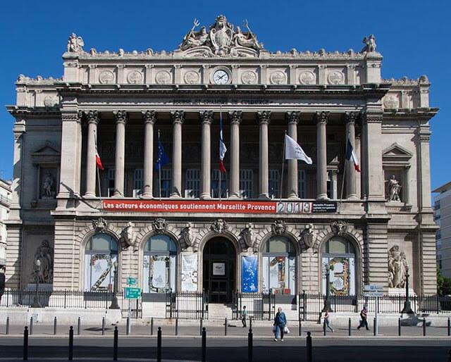 Palácio de la Bourse em Marselha
