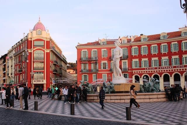 Place Masséna em Nice