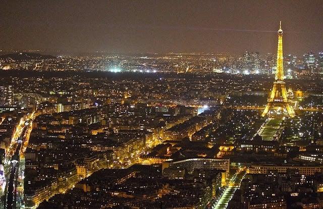 Torre Montparnasse em Paris