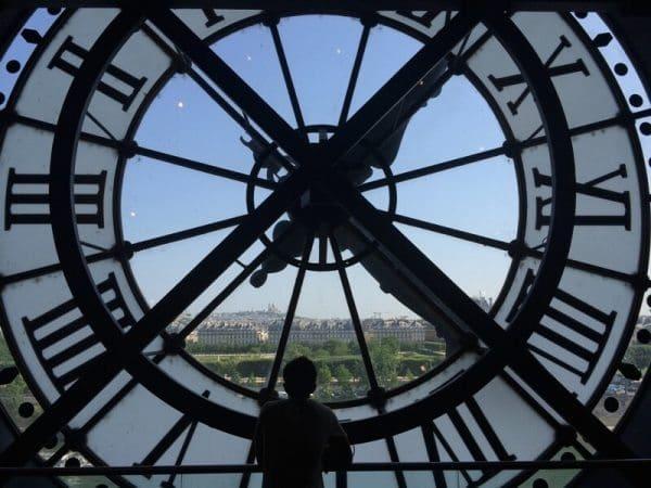 Vista do Museu D'Orsey em Paris