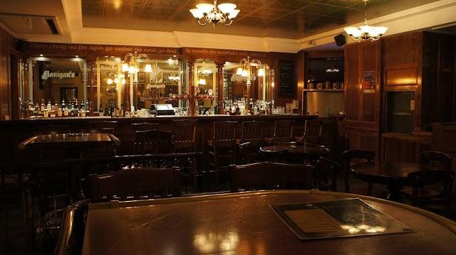 Bar Flanningan's em Lyon