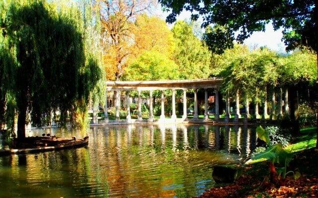 Parc Monceau em Paris