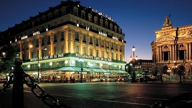 Café de la Paix em Paris
