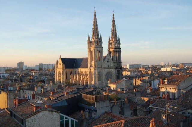 Cathédrale St-André em Bordéus