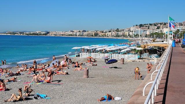 Praias em Nice