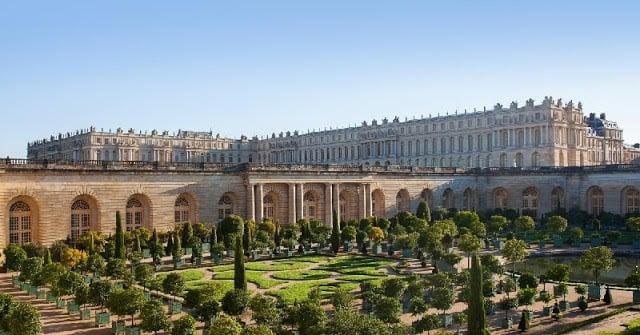 Palácio e jardim de Versalhes