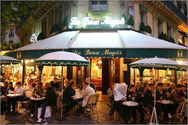 Café Le Deux Magots em Paris
