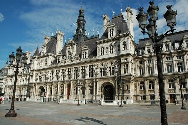 Hotel de Ville em Paris
