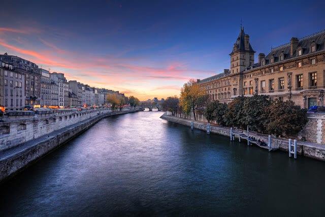 Paris em agosto