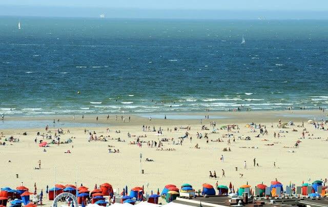 Praia Deauville perto de Paris