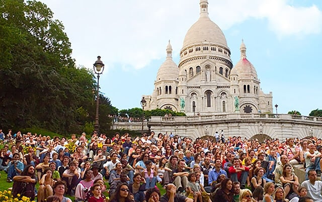 Quartier d'été em Paris