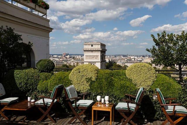 Hotel Raphael em Paris