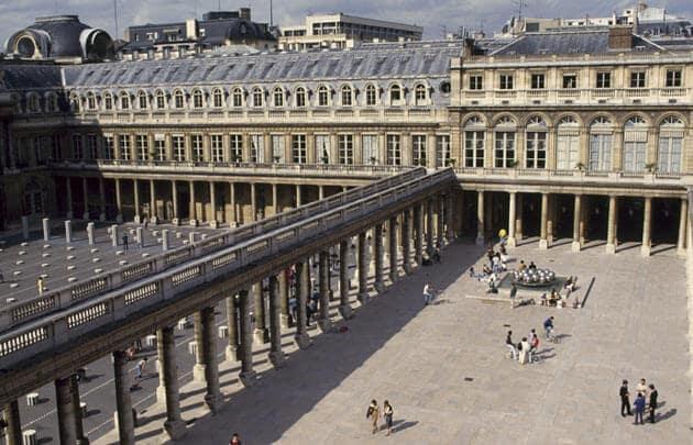 Palais Royal em Paris