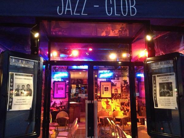 Jazz no Sunset Sunside em Paris