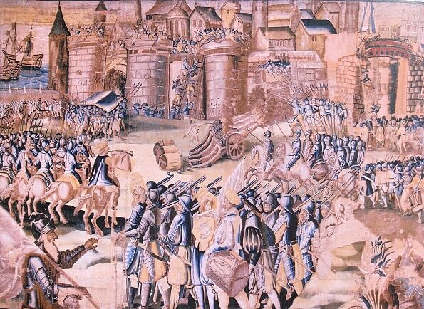 Massacre de protestantes