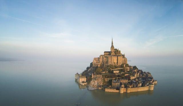 Paisagem do Mont Saint Michel