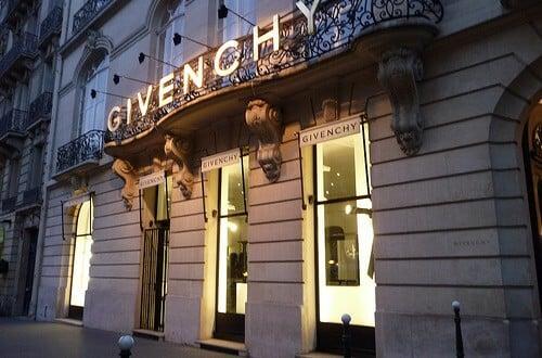 Loja Givenchy na Champs-Élysées