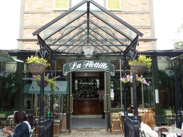 Restaurante La Flottille em Versalhes