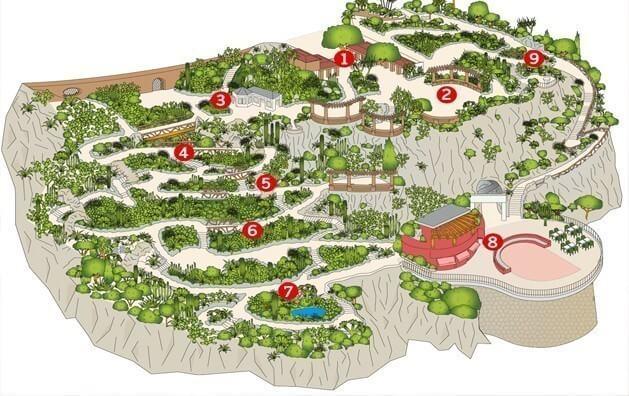 Jardim Exotique em Mônaco