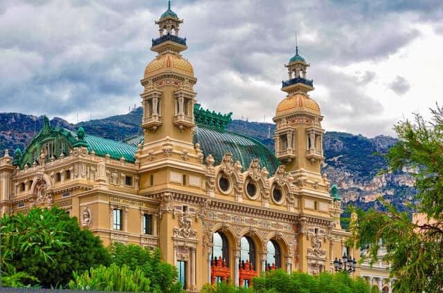 Ópera de Monte Carlo em Mônaco