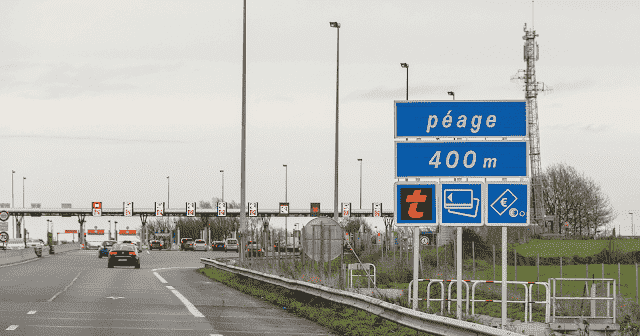Pedágios nas estradas da França