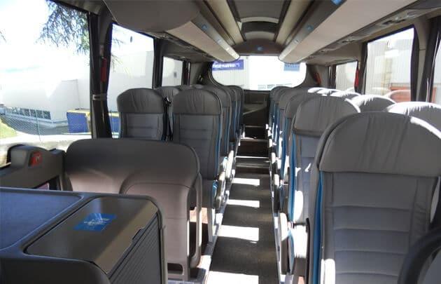 Interior do trem