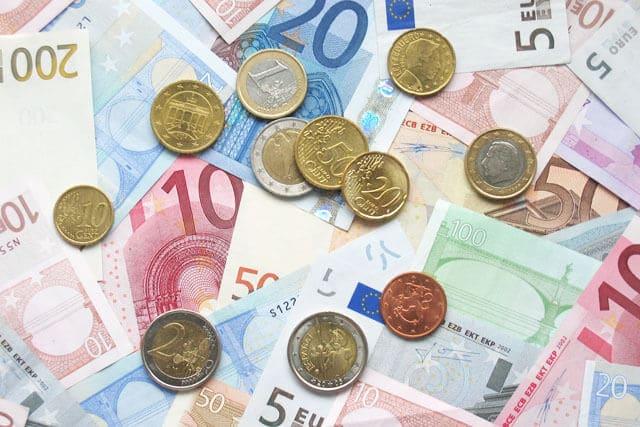 Dinheiro em euro