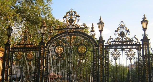 Entrada do Parque Tete D'Or em Lyon