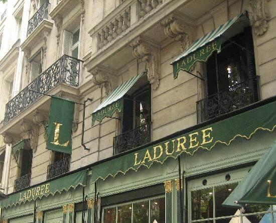 Doces Laduree em Paris